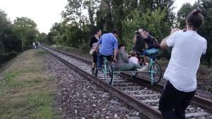 cicloturismo bike train