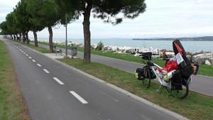 Pista ciclable costera en Koper