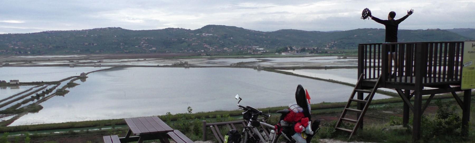 Pista Parenzana en Croacia