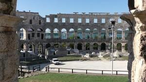 Anfiteatro romano de Pula