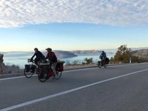 Cicloturismo por costa de Croacia