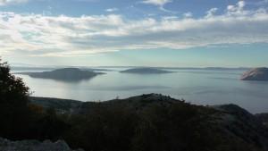 Vistas a las islas croatas