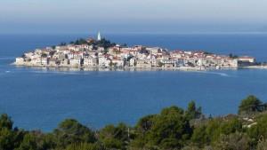 Vistas al mas adriático de Croacia