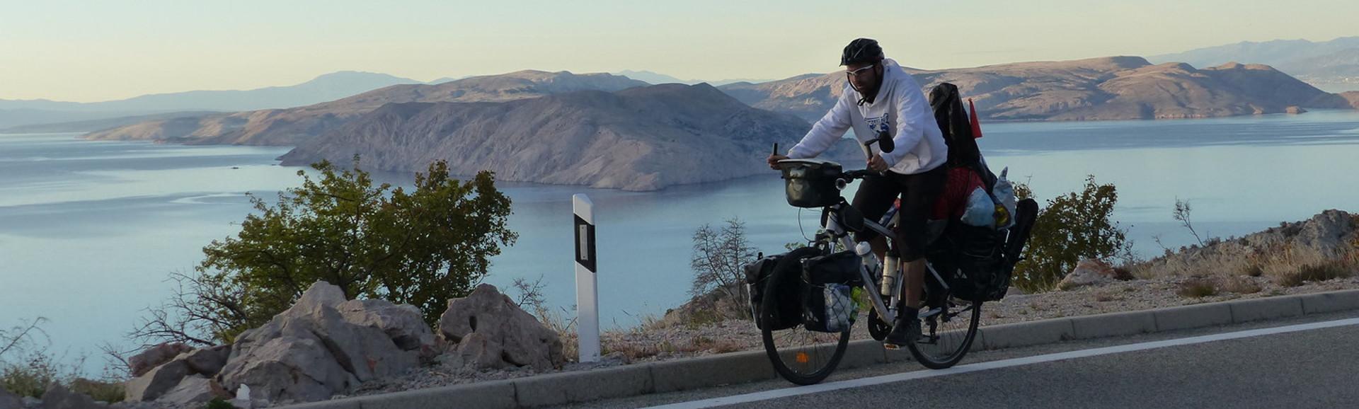 Viajando en bicicleta por Croacia